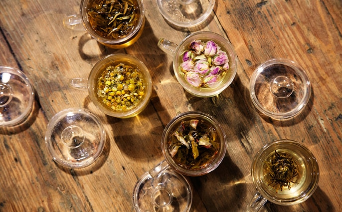 Speciality teas and herbal infusions from Tealyst